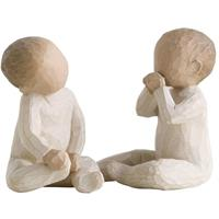 Willow Tree figur, Two Together Baby